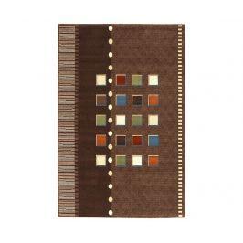 Koberec Coimbra Brown 200x200 cm