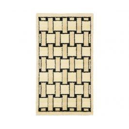Koberec Dama Knitting Black 120x160 cm