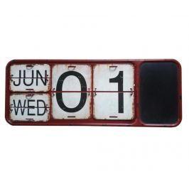 Kalendář s psací tabulí Long