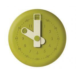 Nástěnné hodiny Present Green