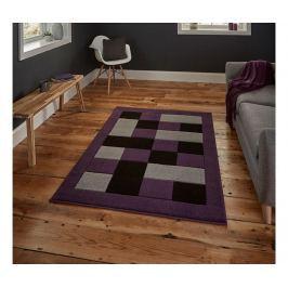 Koberec Matrix Grey Purple 60x120 cm