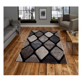 Koberec Noble House Black Grey 120x170 cm