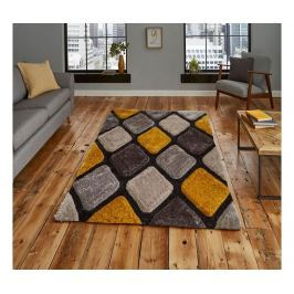 Koberec Noble House Grey Yellow 150x230 cm