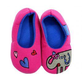 Domácí pantofle Elephant Love Fuchsia 34