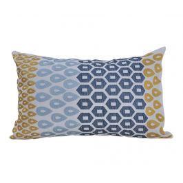 Dekorační polštář Payas Blue and Yellow 30x45 cm
