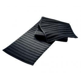 Ručník spa Sultan Dark Grey 30x145 cm