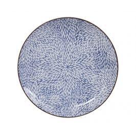 Mělký talíř Tokyo Design Studio Kiku Blue