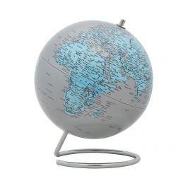 Dekorace Mappamondo Twist Silver Light Blue