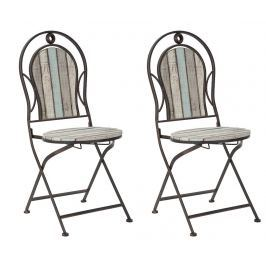 Sada 2 židlí Cambridge