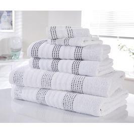 Sada 6 ručníků Spa White