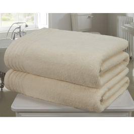 Sada 2 ručníků So Soft  Cream 100x140 cm