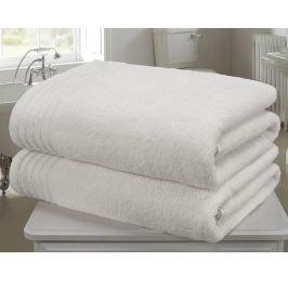 Sada 2 ručníků So Soft White 100x140 cm