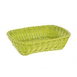 Košík na chléb Rectangular Party  Green