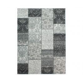 Koberec Patchwork Chenille Black 155x230cm