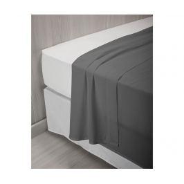 Prostěradlo Percale Quality Grey 150x260 cm
