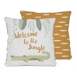 Dekorační polštář Welcome Jungle 45x45 cm