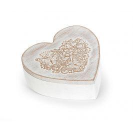 Šperkovnice Flower Heart