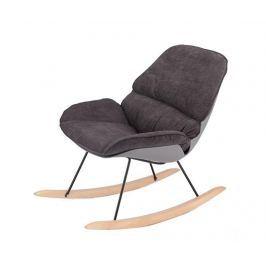 Houpací židle Vinyl Dark Grey