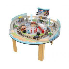 Autíčka na hraní se stolem a příslušenstvím Cars Racetrack