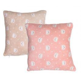 Sada 2 dekoračních polštářů Happy Pastel 45x45 cm