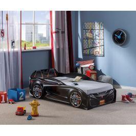 Rám postele pro děti Spyder Black