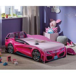 Rám postele pro děti Spyder Pink