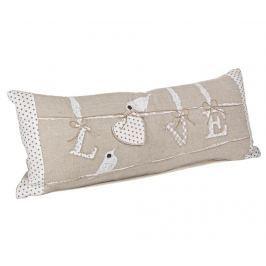 Dekorační polštář Love 25x60 cm