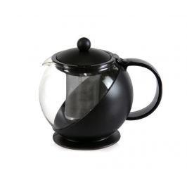 Čajník s víkem a infuzérem Calliope Black 1.2 L