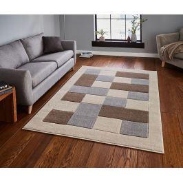 Koberec Matrix Beige & Grey 120x170 cm