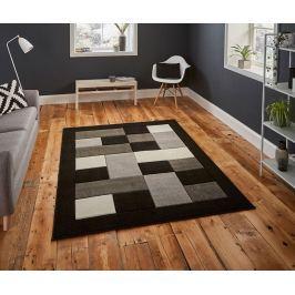Koberec Matrix Black & Grey 80x150 cm