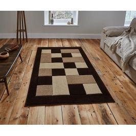 Koberec Matrix Brown & Beige 80x150 cm