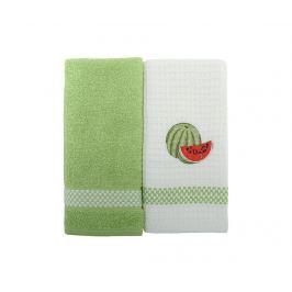 Sada 2 ručníků Watermelon 45x70 cm
