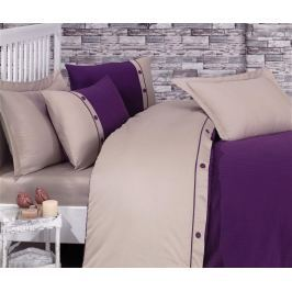 Ložní povlečení King Satin Supreme Fashion Stripe  Purple