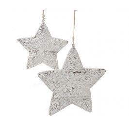 Sada 2 zásvěsných dekorací Star Swirls
