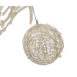 Závěsná dekorace Metal Ball with Pearls