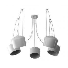 Závěsná lampa Hollie Rio White