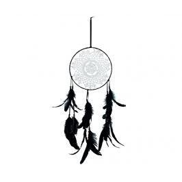 Závěsná dekorace Dream Catcher Black and White