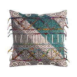 Dekorační polštář Fringe Embroidery 45x45 cm