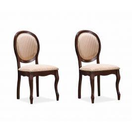Sada 2 židlí Countess Pink