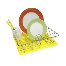 Odkapávač na nádobí s tácem Eden Yellow