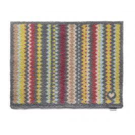 Vchodová rohožka Coloured Zigzag 65x85 cm