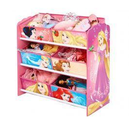 Regál se 6 košíky Princess
