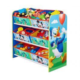 Regál se 6 košíky Mickey Mouse