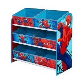 Regál se 6 košíky Spiderman