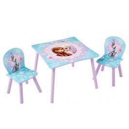 Dětská sada stůl a 2 židle Frozen