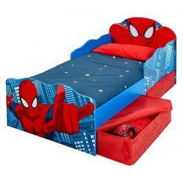 Dětská postel s úložnými zásuvkami Spiderman