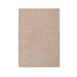 Koberec Carved Maze Mink 80x150 cm