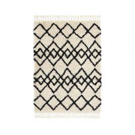 Kobereček Morocco Ivory Charcoal 120x170 cm