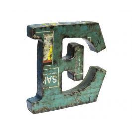 Dekorace Letter E