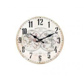 Nástěnné hodiny Mappemonde Powder Pink
